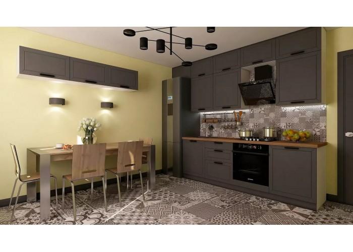 Кухонный гарнитур Монс 4,8 Графит в Калуге