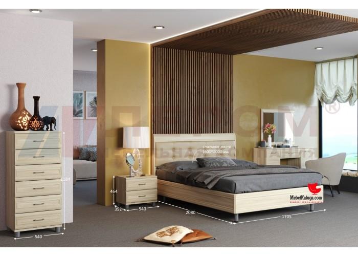 Спальня Мелисса (вариант 1) в Калуге