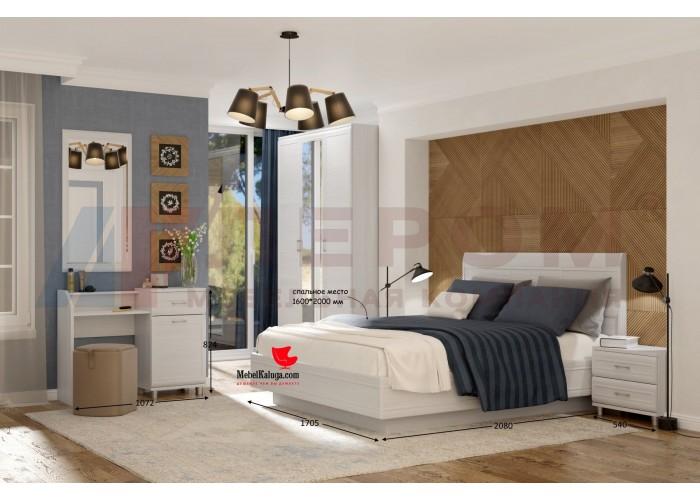 Спальня Мелисса (вариант 2) в Калуге