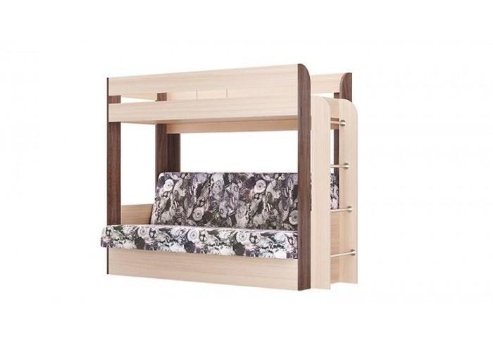 Кровать двухъярусная Немо (без верхнего матраса) в Калуге