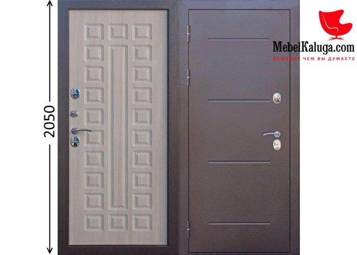 Входная дверь 11 см ISOTERMA в Калуге