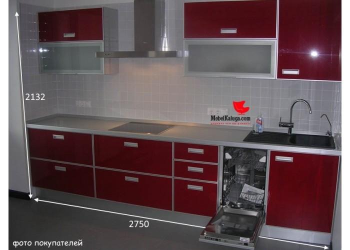 Кухня Роверо гранат на заказ в Калуге