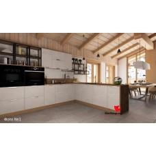 Кухонный гарнитур Авенза 5,0 Россо