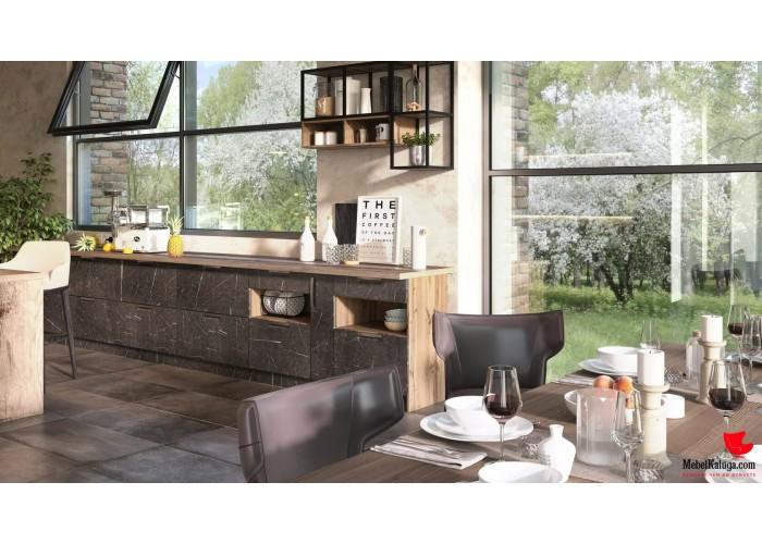 Кухонный гарнитур Авенза 5,0 Россо в Калуге