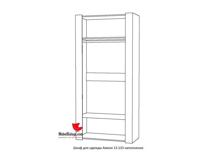 Амели Шкаф для одежды 13.133 (2300x1080x513) в Калуге