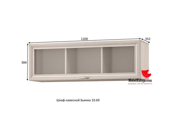 Бьянка Шкаф навесной 10.69 (384x1200x352) в Калуге