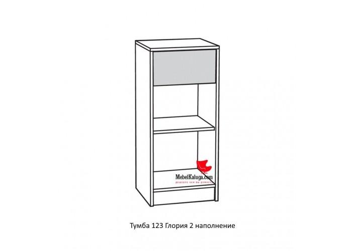 Глория 2 123 Тумба (886x395x360) в Калуге