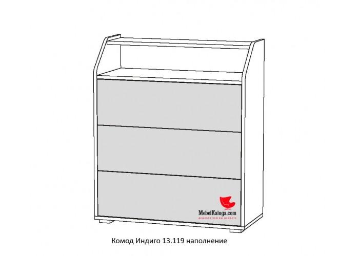 Индиго Комод 13.119 (894x760x334) в Калуге