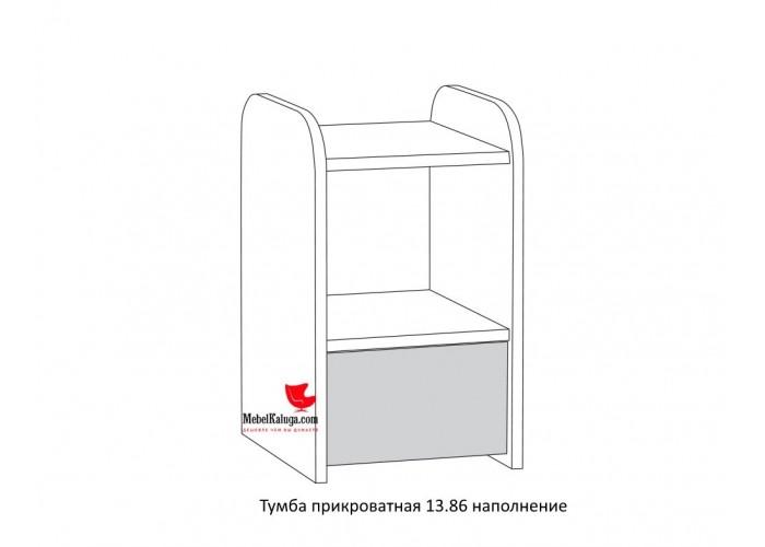 Индиго Тумба прикроватная 13.86 (503x300x353) в Калуге