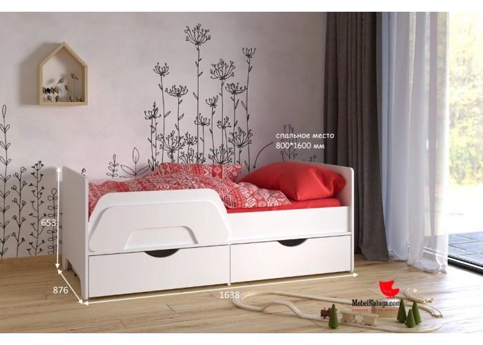 Кровать Уна 11.22 в Калуге