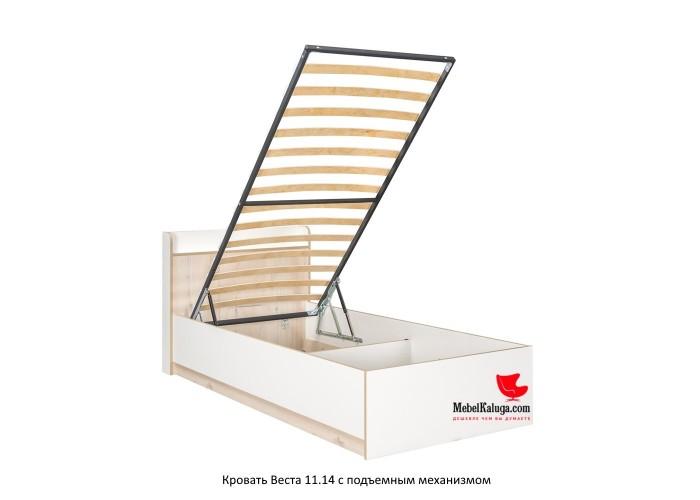 Веста Кровать 11.14 (860x990x2160) в Калуге