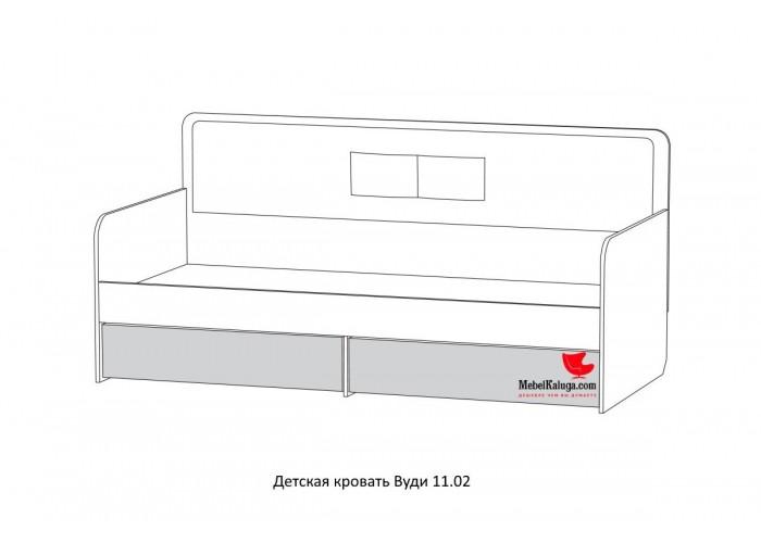 Кровать Вуди 11.02 в Калуге