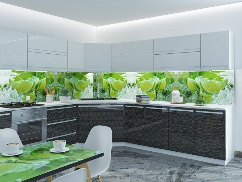 Панели с картинками на кухню
